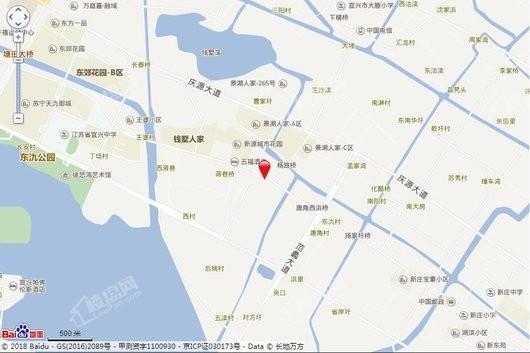龙湖阳光城璞悦项目交通图