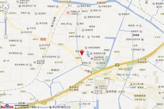 华广新城西路地块交通图