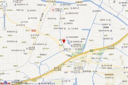 华广新城西路地块电子地图