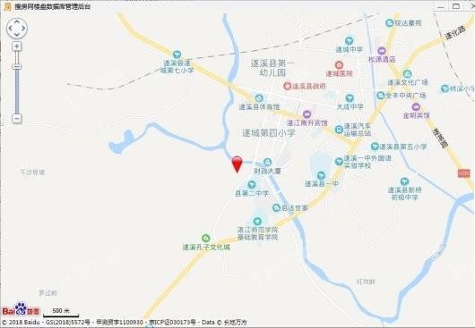 碧桂园·公园首府交通图