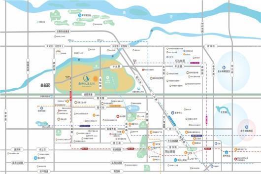康桥九溪天悦区位图
