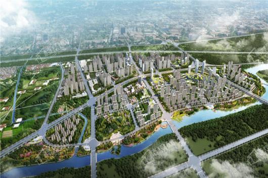 康桥九溪天悦区域规划图