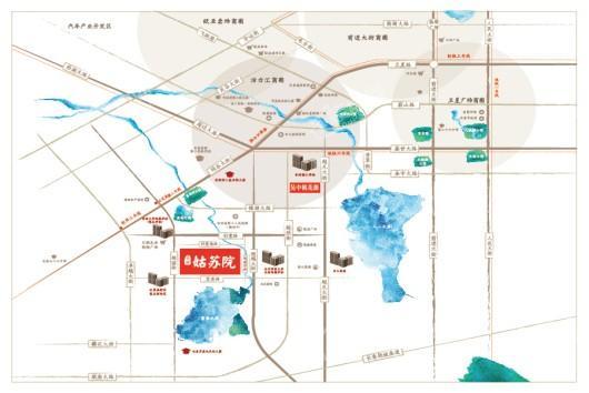 吴中姑苏院交通图