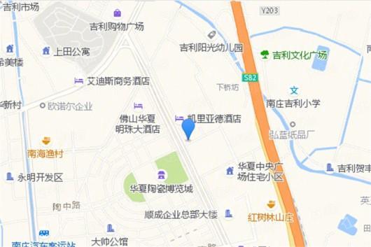 合景阳光城·领峰交通图