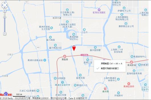 葛洲坝融创虹桥玫瑰公馆交通图