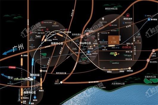 新力睿园交通图