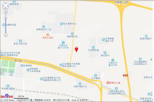 翡翠书院小区交通图