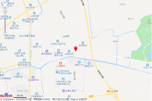 银城长江赋交通图