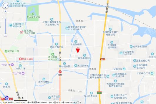 中智科技园交通图