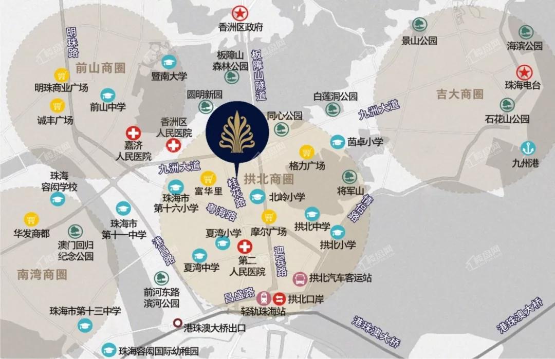 国维中央广场位置图
