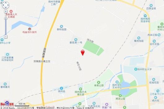 启迪科技城(扬州)交通图
