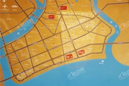 财富海岸交通图