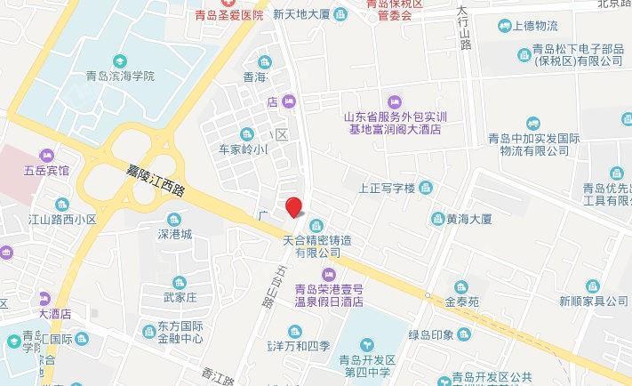 蓝光雍锦半岛区位交通图