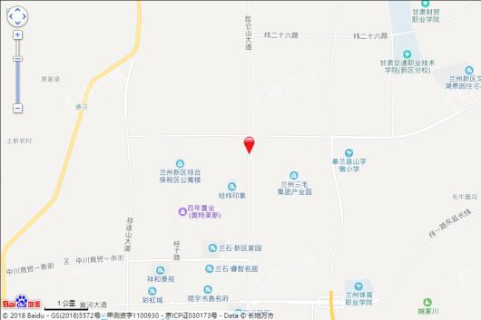 华腾富世家园交通图