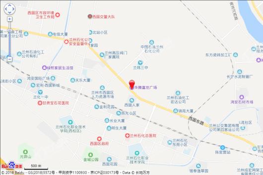 华腾富世广场交通图
