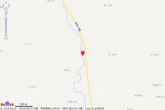 力旺莲花山项目(未定)交通图