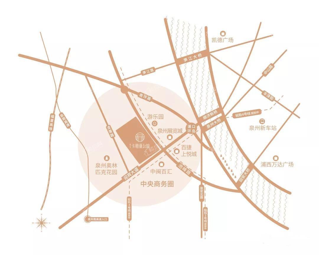 卡地亚公馆位置图