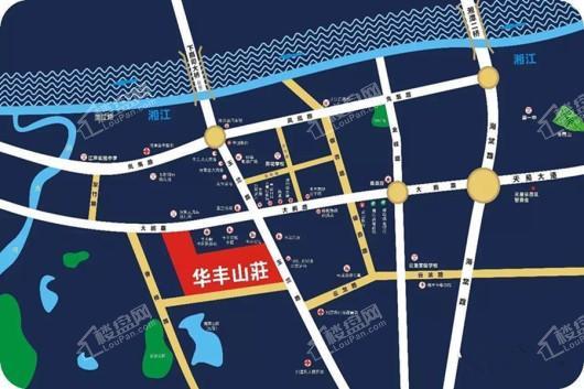 华丰山庄交通图