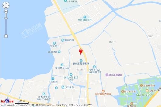 华侨城沙家浜014地块区位图