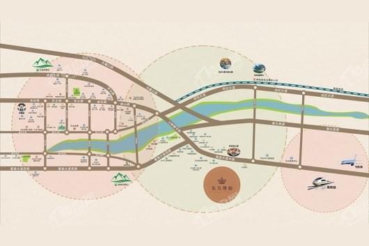 东方尊裕交通图
