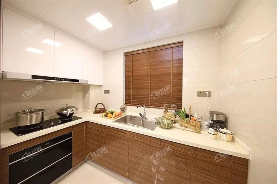 119㎡样板间厨房实景图