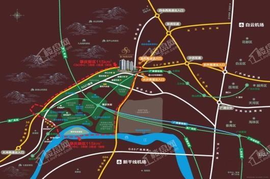 海晟花园交通图