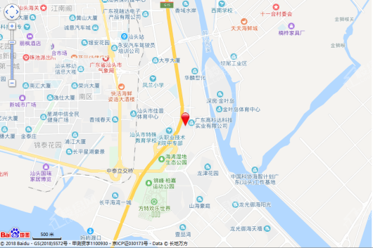 深源长平路项目交通图