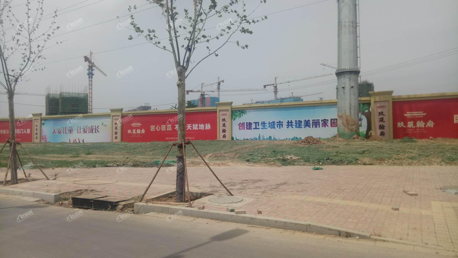 润江煦园施工现场