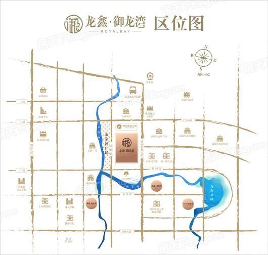 鸿通龙鑫御龙湾交通图