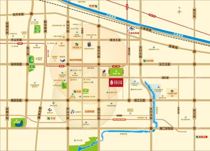 润都锦园位置图