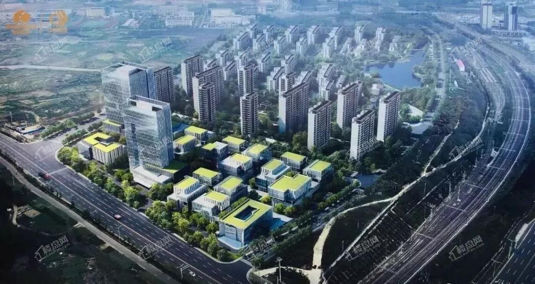 绿地智慧健康城效果图