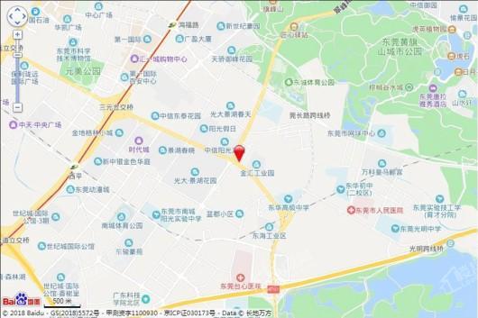 海德·琥珀臺交通图