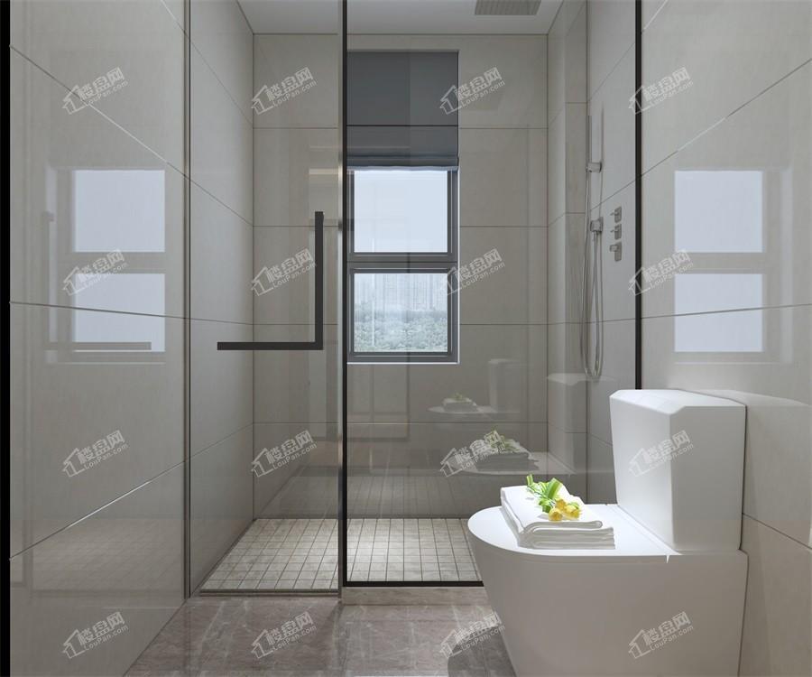 2#楼38㎡样板间卫生间实景图