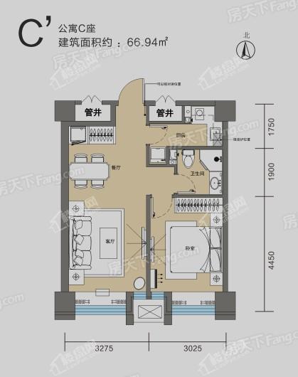 厚德·锦寓户型图