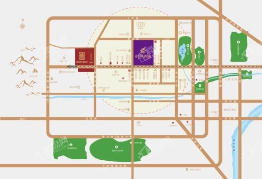 厚德·锦寓交通图