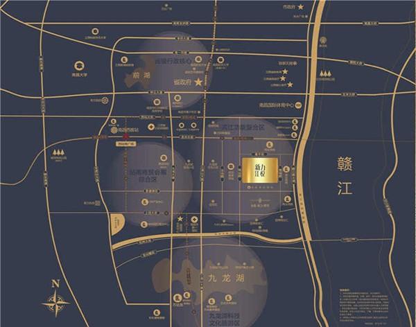 新力江悦位置图