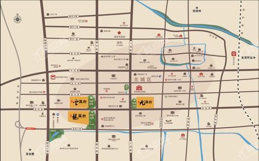万兴·龙玺台交通图