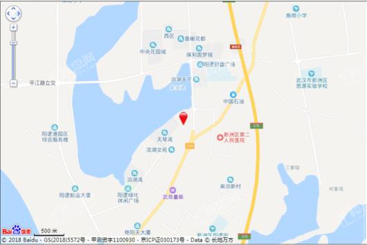 湖景雅苑交通图
