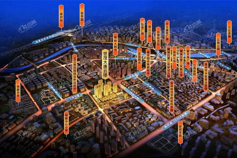 交通区位规划效果图