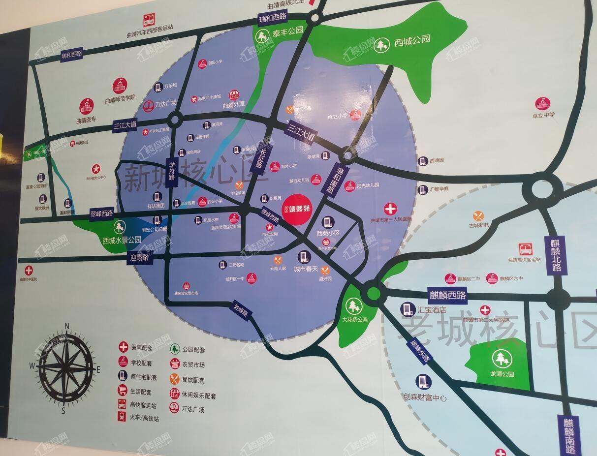 德通·靖熙苑位置图