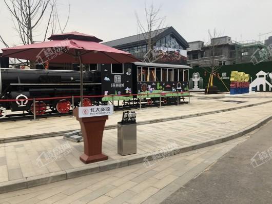 北大资源莲湖锦城小区内观光火车