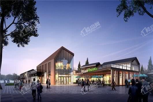 北大资源莲湖锦城项目商业街