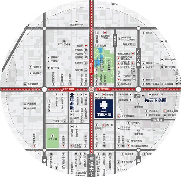 新合作中商大厦位置图