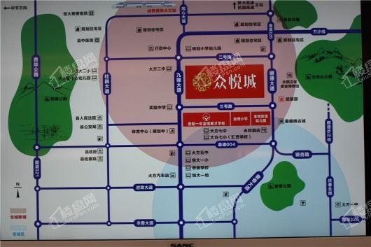 众悦城交通图