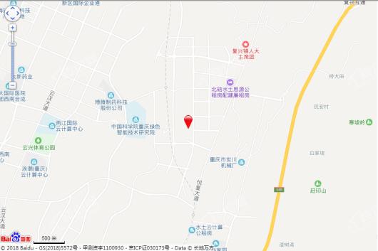 重庆映月台交通图