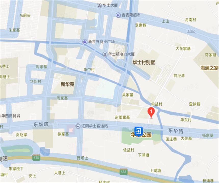 碧桂园·凤凰公馆位置图