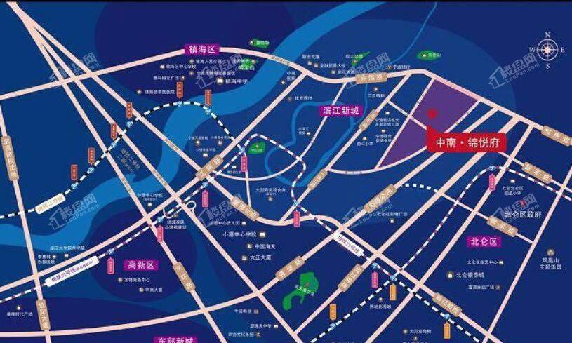 中南锦悦府位置图