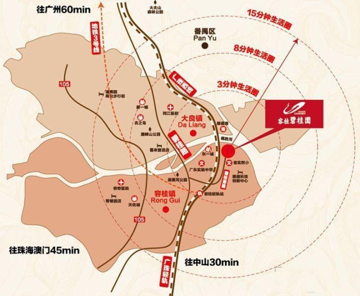 碧桂园凤凰湾位置图
