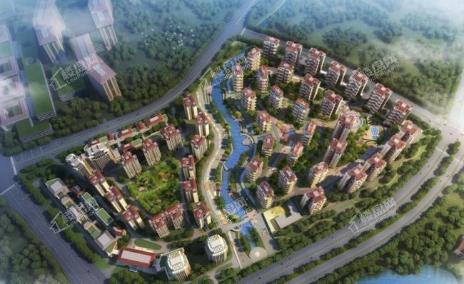 中國鐵建貴安山語城位置圖