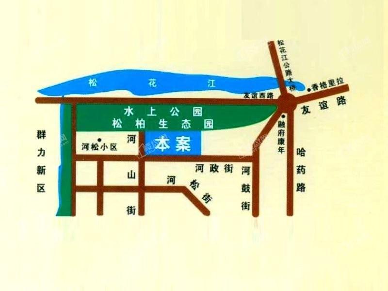 观江首府位置图